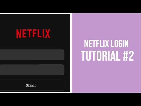 Netflix Login| Tutorial #2| Desiree Marais