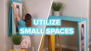 6 Mind-blowing Ways To Utilize Small Spaces
