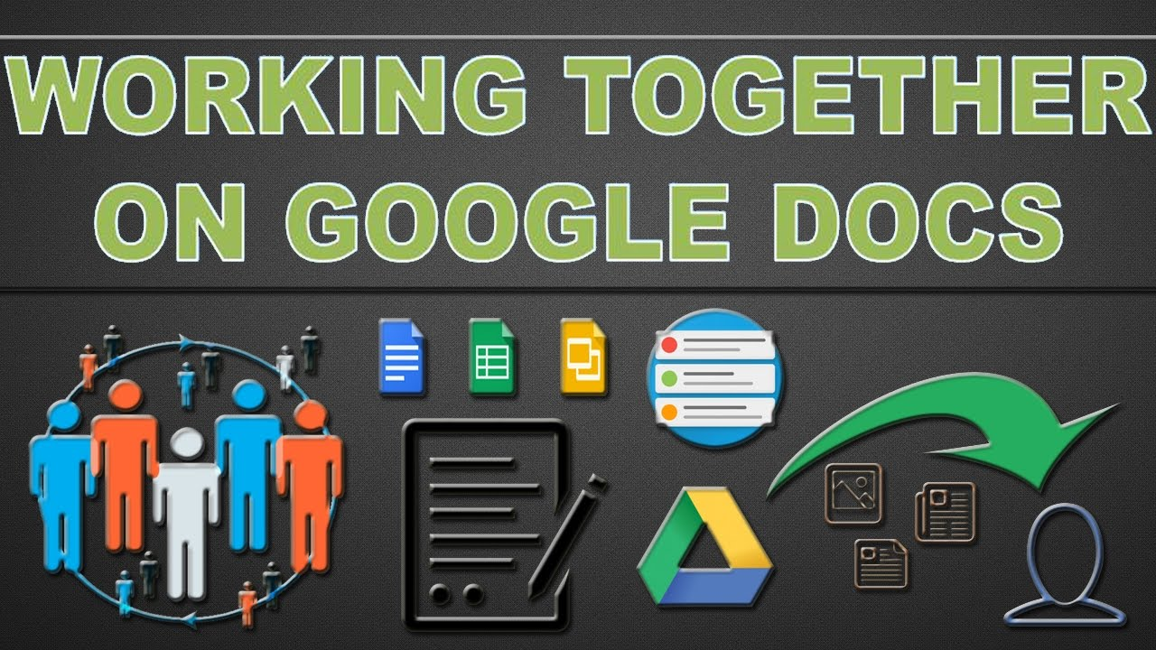 Drive Work Google Drive Multiple People Can Work On Same Document At Same Time