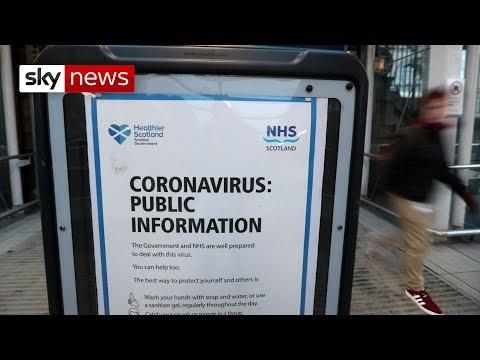 Number Of Coronavirus Cases In UK Rises To 456