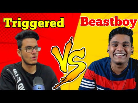 Beastboyshub VS Triggered Insaan (Live Insaan) | Who Is Best In Indian Gaming Community | Noob Tuber