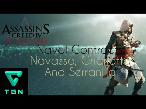 Assassin's Creed IV Black Flag Naval Contracts Navassa, Char