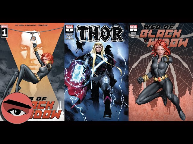 Comic Watch E060 Web of Black Widow #1-5 and Thor #1