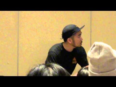 141214 BTS Choreographer Mr. Son Singapore Workshop + Full Interview