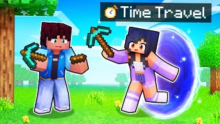 Using TIME TRAVEL To Help My Friends In Minecraft!