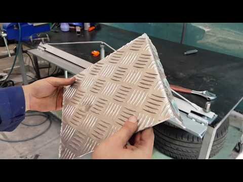 Manual DIY metal sheet bender #1