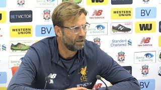 Jurgen klopp full pre-match press conference - liverpool v manchester united - premier league