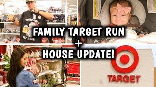HOUSE UPDATE + TARGET RUN & HAUL | Erika Ann