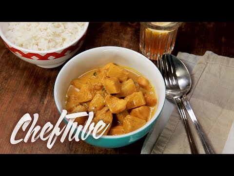 comment-faire-poulet-ananas-curry-au-riz---recette-dans-la-description