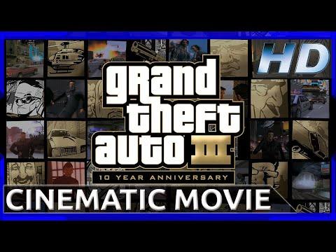Grand Theft Auto III - 10 Year Anniversary - Cinematic Movie (1080p HD)