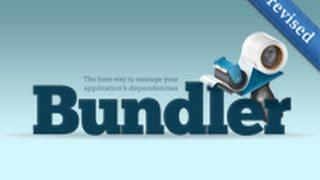 Ruby on Rails - Railscasts PRO #201 Bundler (revised)