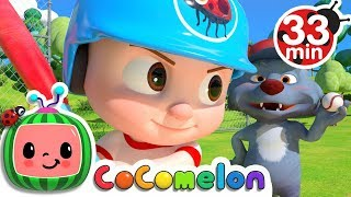 Take Me Out to the Ball Game | +More Nursery Rhymes & Kids Songs - Cocomelon (ABCkidTV) thumbnail