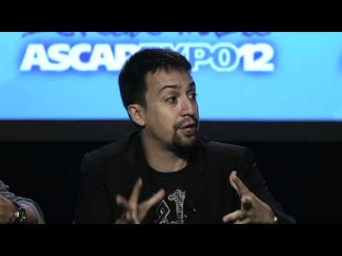 Lin-Manuel Miranda on songwriting at the 2012 ASCAP