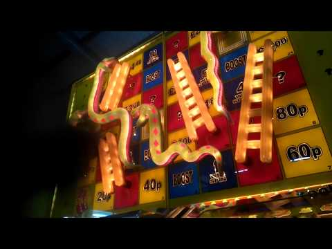 ADDERS AND LADDERS INVINCIBLE MODE - FRUIT MACHINE 2017 WESTON GRAND PIER