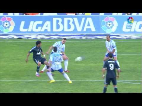 Resumen de Málaga CF vs Real Madrid (1-1) 2009/2010
