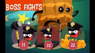 Silly Walks - Defeat all bosses ! Gameplay HD