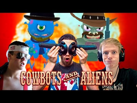COWBOTS AND ALIENS WITH NATHIE AND TALI! - HTC Vive Gameplay |