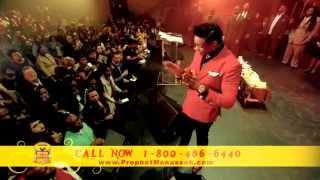 Prophet Manasseh Jordan - Strong Prophetic Words of Healing in Miami