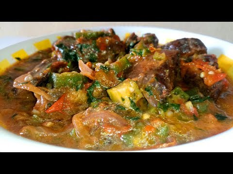 Okra Stew Recipe: How to Make Okra Stew/Soup