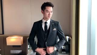 [온채널해외직구상품]남자세미정장