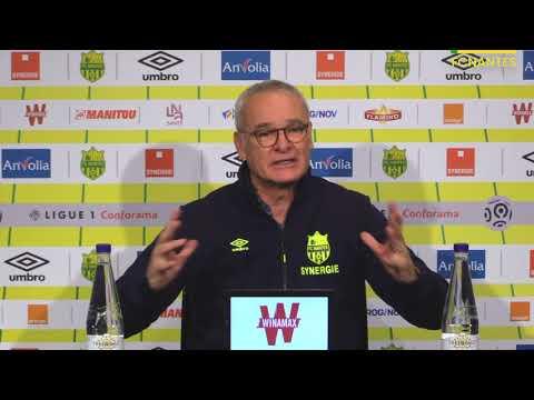 Claudio Ranieri avant USM Senlis (N3) - FC Nantes