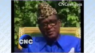 Mobutu parle de l
