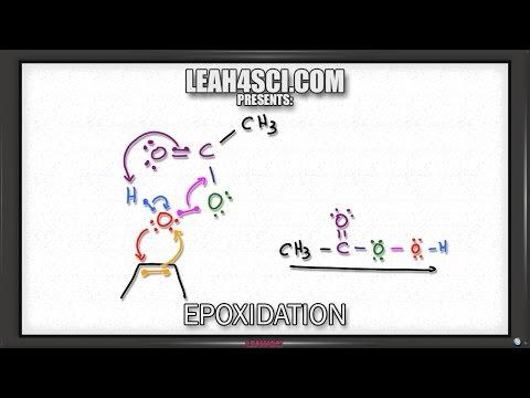 Alkene Epoxidation Reaction and Mechanism Using Peroxy acid or mCPBA