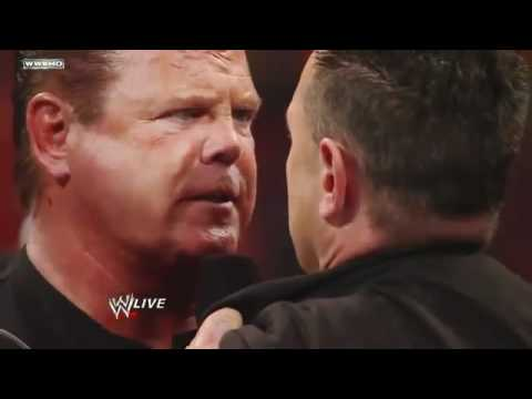 f06ddb36bc8d Jerry Lawler challenges Michael Cole to a match at WrestleMania 27 ...