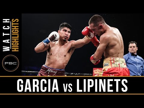 Garcia Vs Lipinets HIGHLIGHTS: PBC On SHOWTIME - March 10, 2018