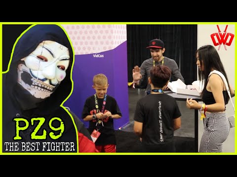 WE CAUGHT PZ9 SPYING ON WYATT AND THE SPY NINJAS AT VIDCON | MUST SEE TO BELIEVE!