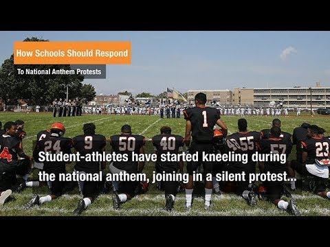 Students Have a Right to Protest During National Anthem, Pledge of