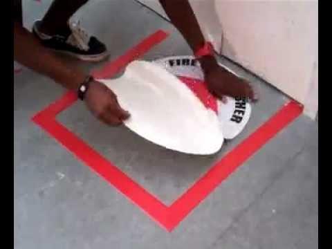 Aisle Marking Tape Amp Floor Sign Floor Marking Kit For Fire