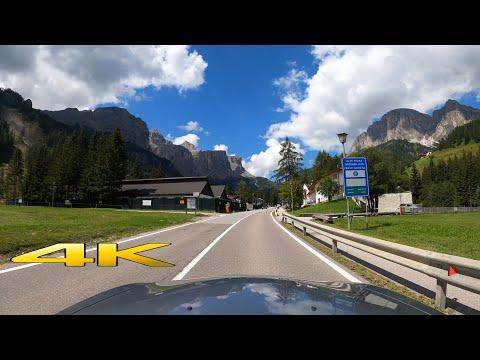 Dolomites Passo Gardena Italy One Epic Drive 4K 60P