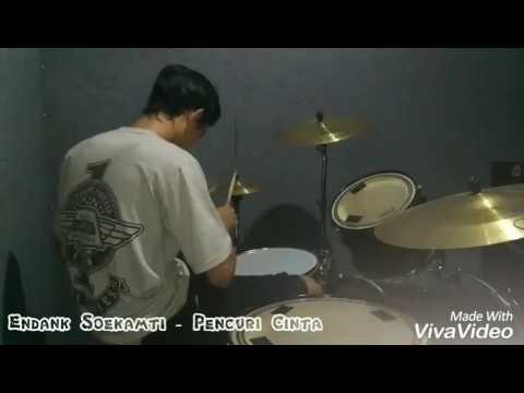 Endank Soekamti - Pencuri Cinta ( Cover Drum )