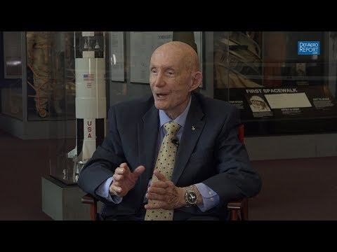 Apollo, Gemini Astronaut Stafford on Why He Attended USNA, But Joined USAF