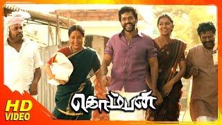 Komban Tamil Movie |  Mella Valanjadhu Song | GV PrakshKumar | Madhu Balakrishnan