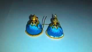 Silk Thread Jhumka Tutorials