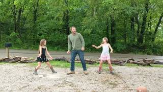 Daddy daughter git up challenge video