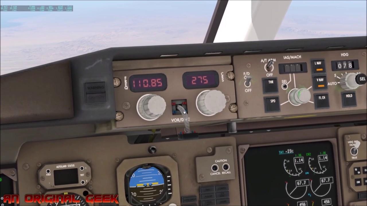 X Plane 11 | FF 757-200 | IN FLIGHT FAILURE