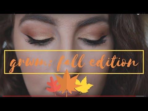 GRWM: My Fall Makeup Routine