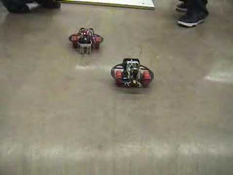 Robot Drag Race (Regulated vs Unregulated Power), GS 2007