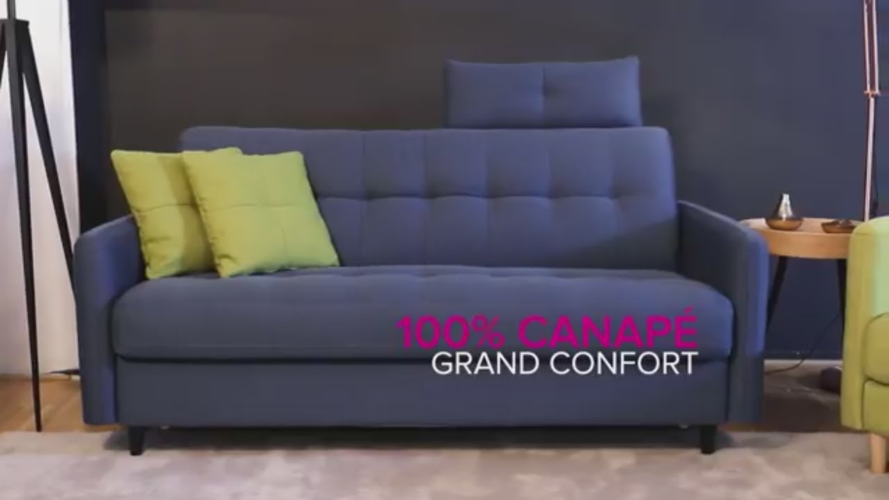 laminuteconvertible ep 1 soho canap convertible la maison du convertible youtube. Black Bedroom Furniture Sets. Home Design Ideas