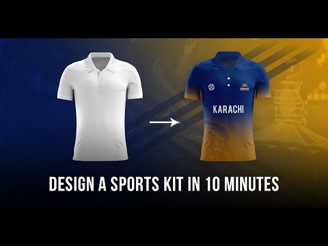 Photoshop Tutorial: How To Design A Sports Kit In 10 Minutes (MOCKUP INCLUDED)