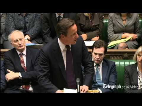 British Prime Minister David Cameron defends EU treaty veto
