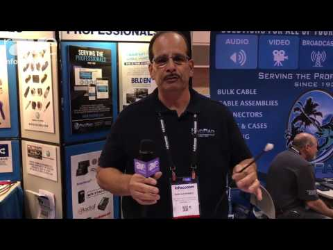 InfoComm 2017: Pacific Radio Presents REVConnect RJ45 Connectivity System