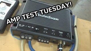 Amp Test Tuesday - Rockford Fosgate Prime 750.1 - RF