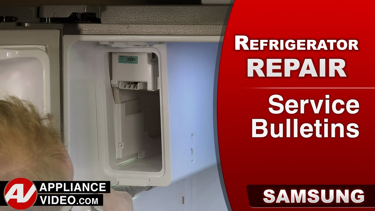 Samsung Refrigerator Service Bulletins Product Recalls Defects Repair Issues