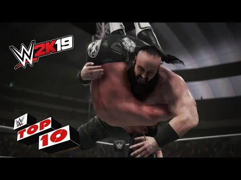 Monstrous Braun Strowman Powerslams: WWE 2K19 Top 10