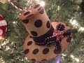 Holly Jolly Christmas Series Ep 9 Paper Towel Roll Top Hat Ornament