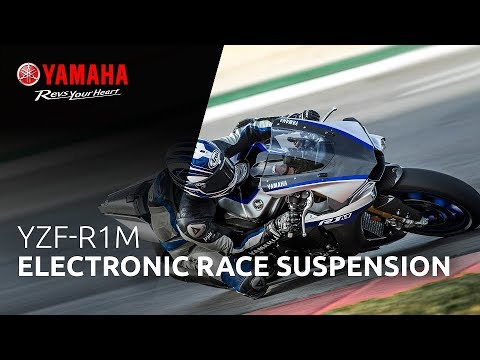 2018 YZF-R1M Electronic Racing Suspension (ERS)